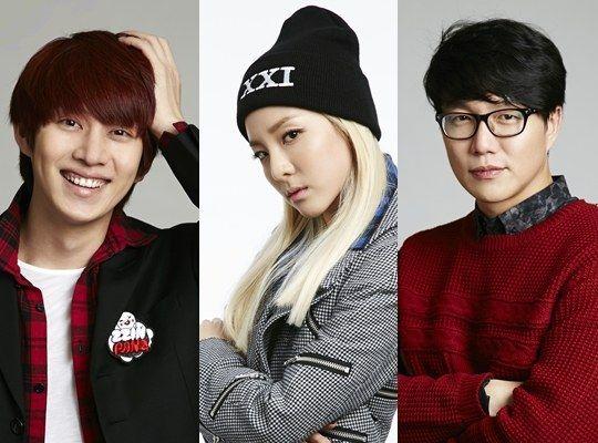 "Sung Si Kyung, Kim Heechul and Sandara Park Confirmed as SBS ""Gayo Daejun"" MCs"