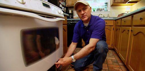 Clean Oven Glass Door, How To Clean Inside Double Glass Oven Doors