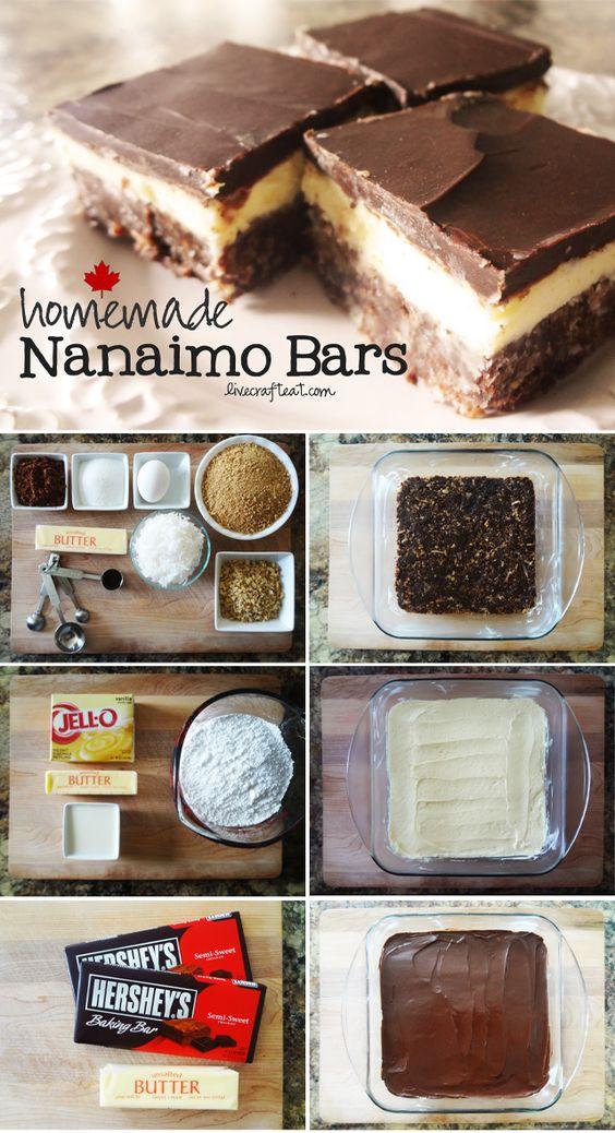homemade nanaimo bars :: a canadian classic