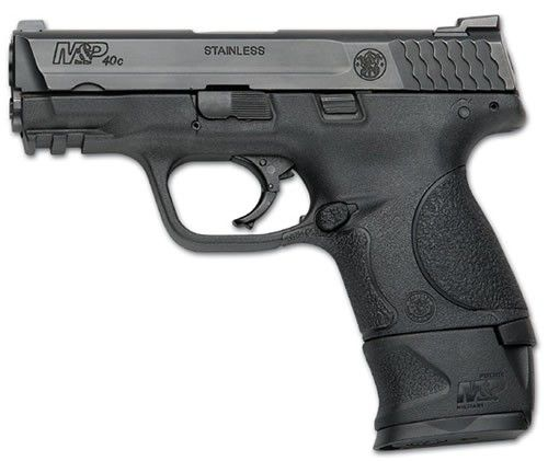 Smith & Wesson M&P .40 compact w/ extended magazine