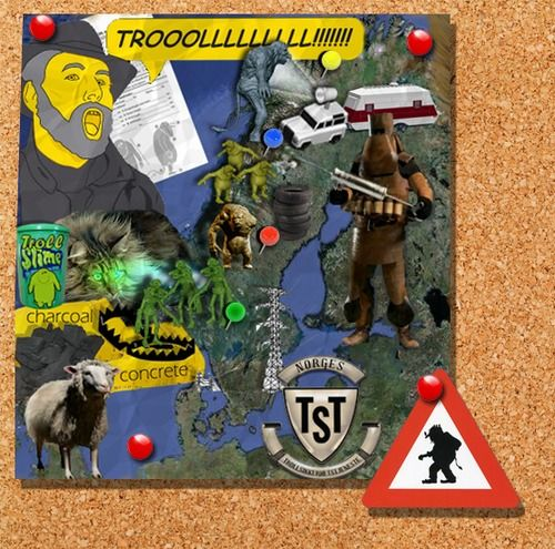 Troll Hunter Norway Poster Map Special Edition That