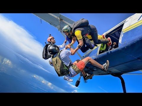 Skydiving In Florida The Best Jumps Of October 2016 Youtube Skydiving In Florida Whitewater Kayaking Skydiving
