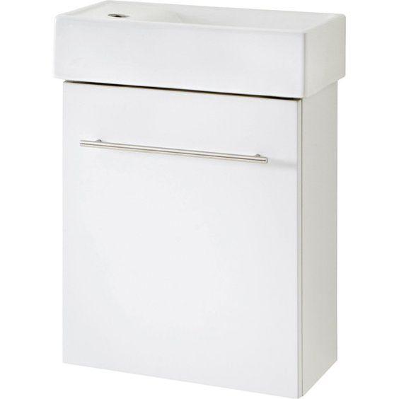 Obi Bathroom Furniture Set Resia White 2 Piece Badmobel Set Obi