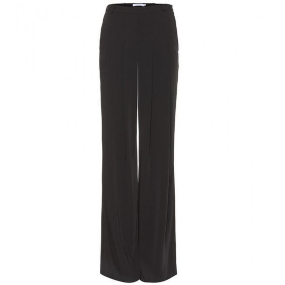 Altuzarra Georgia Trousers With Pleats ($395) ❤ liked on Polyvore