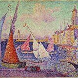 Port of Saint Tropez by Paul Signac