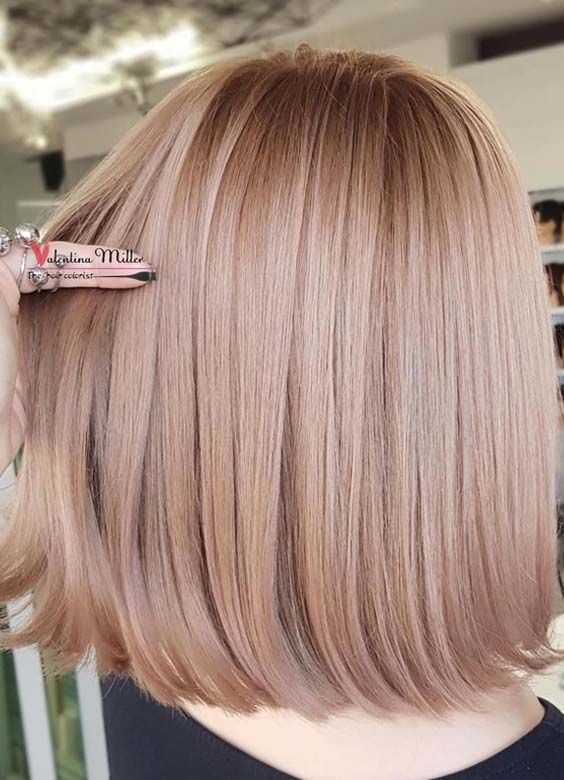 33 Best Copper Rose Gold Hair Color Styles In 2018 Styleschannel Hair Color Rose Gold Hair Color Light Brown Hair