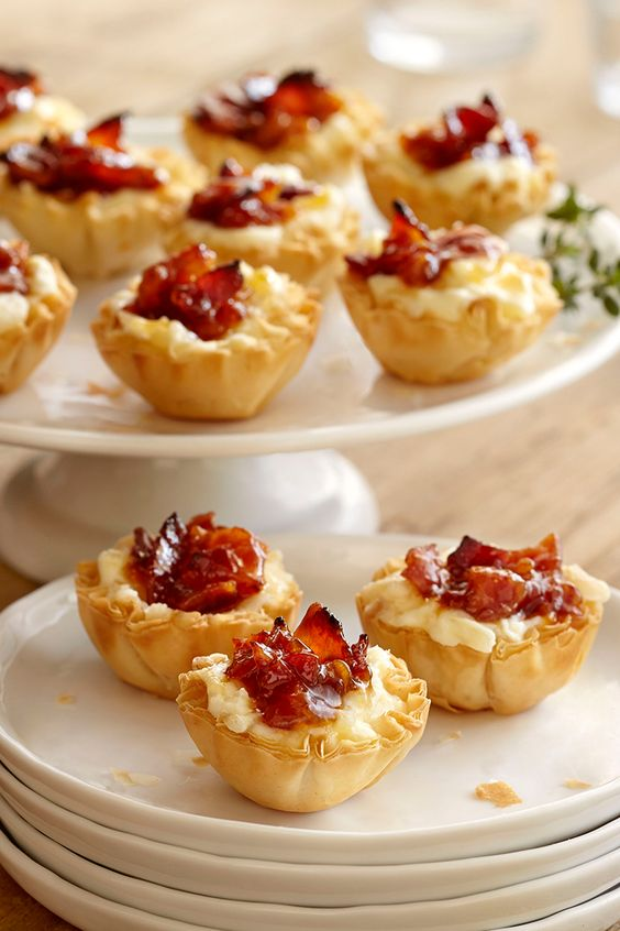 ... jam recipes minis baked cheese brunch appetizers lucerne bacon jam