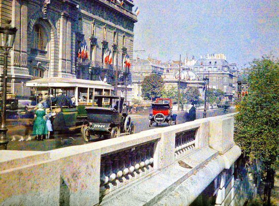 Autochromes du debut du siecle