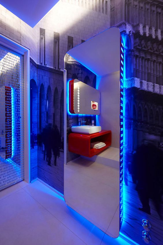 Futuristic Interior Town House Street 8 Milans Four Boutique Hotel Suites Boasting Incandescent Design