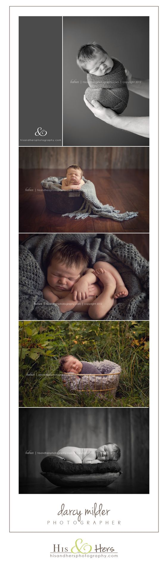8 days old | photographer darcy milder | his & hers