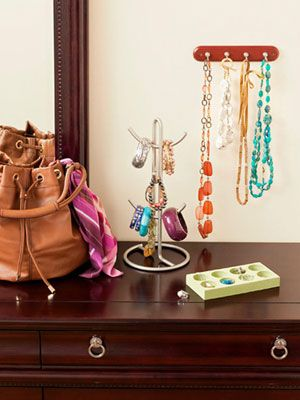 Organize Your Summer Accessories #organize # jewelry # necklace