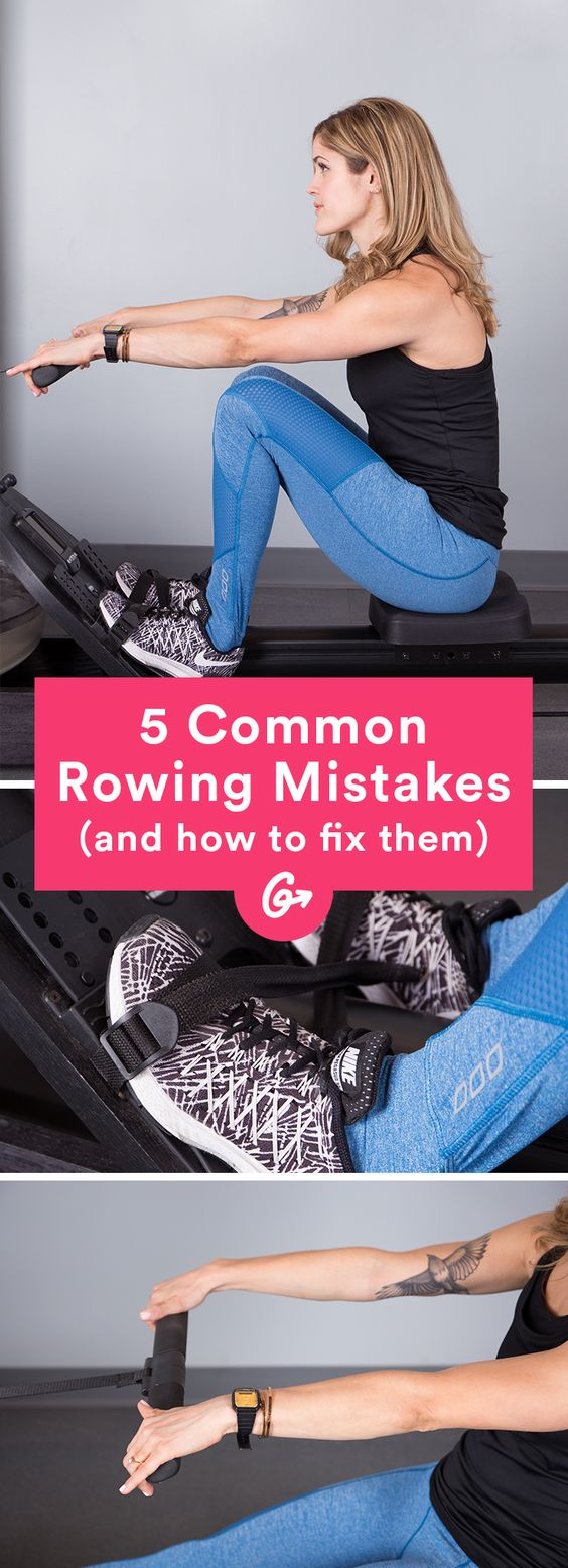 Plus the 5 most common mistakes (and how to fix them). #rowing #cardio #exercise http://greatist.com/move/how-to-use-a-rowing-machine