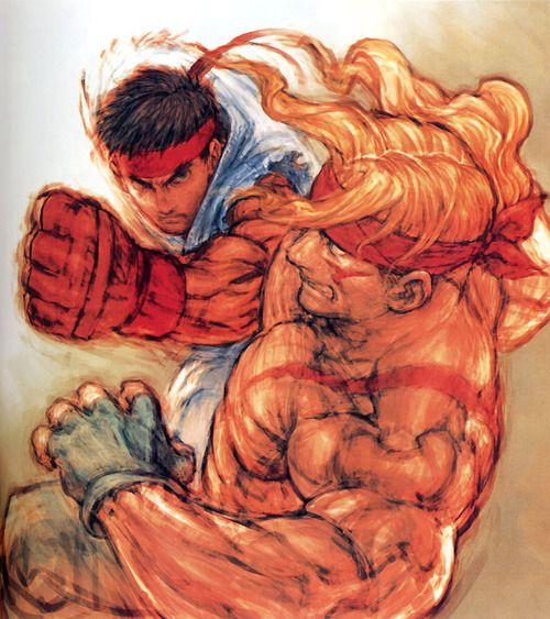 Ryu vs Alex.