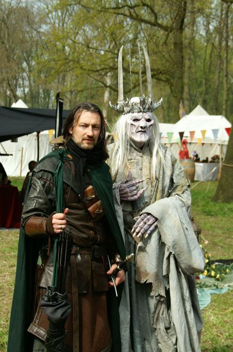 Ranger of Ithilien and the Witch King at Elf Fantasy Fair ...