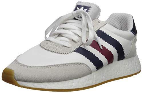 adidas Originals Men's I 5923 Running Shoe, White Burgundy