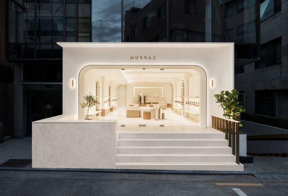 Commercial Project Architecture Design 110canopy Design Canopy Architecture Modern Architecture Roof Structur Cafe Design Coffee Shop Design Shop Front Design