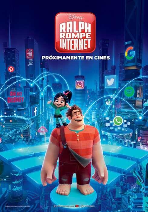 Cartel Oficial En Espanol De Ralph Rompe Internet Wreck It Ralph Free Movies Online Full Movies Online Free