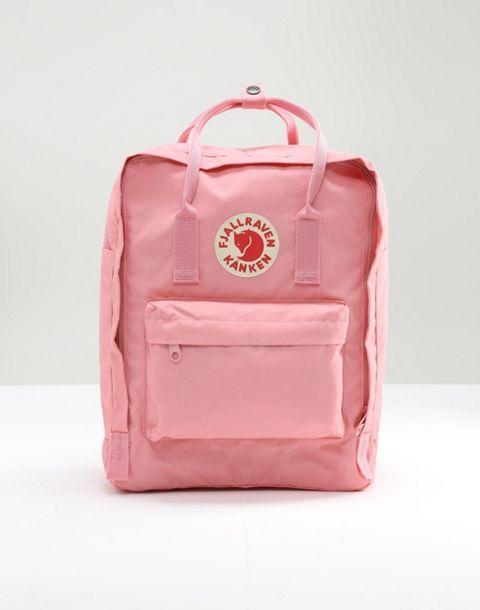 Fjallraven Fjallraven Classic Kanken Backpack In Pastel Pink Kanken Backpack Kanken Backpacks
