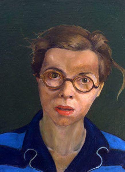 Self Portrait by Priscilla Warren Roberts (American 1916 – 2001)