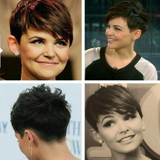 ginnifer goodwin pixie cut side and back views hair