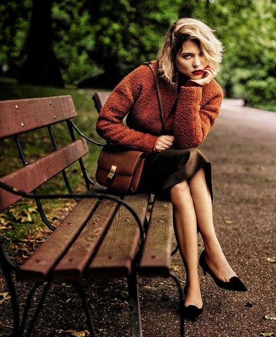 Lea Seydoux by Alasdair McLellan   Number 1 Magazine