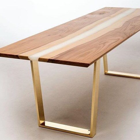 Brass Dining Table Legs 28 Trapezoid Table Legs Base Width 24