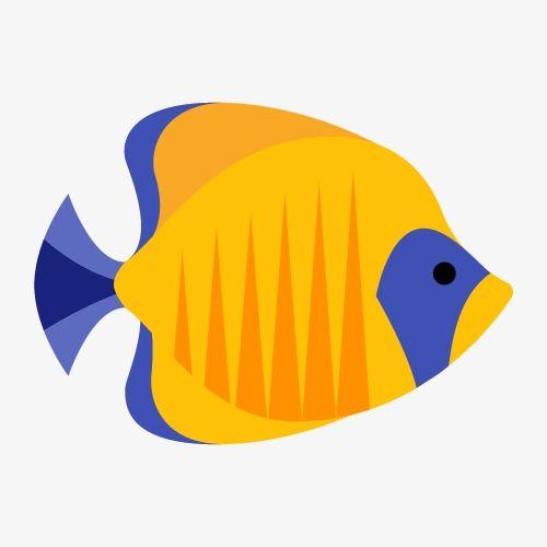 سمكة صفراء Fish Clipart Yellow Fish Fish