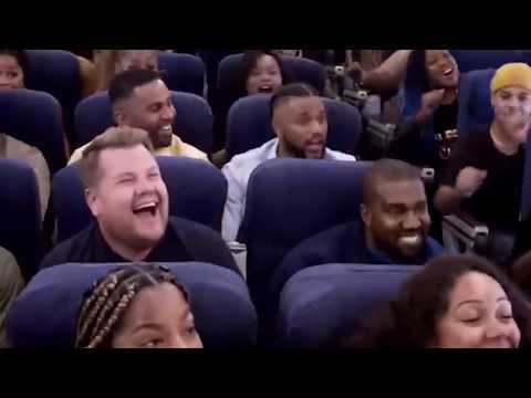 Kanye West Amazingly Creates Church Service In Airplane Trip Youtube Church Service Airplane Travel Trip