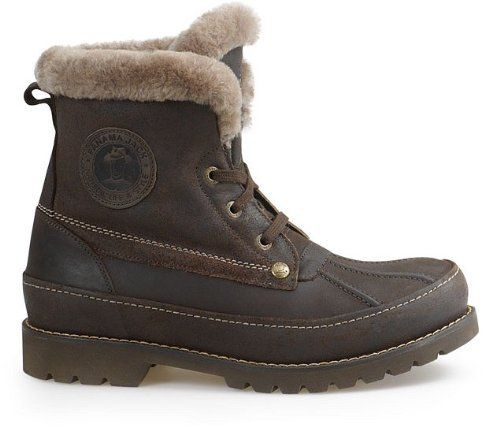 Amazon.com: PANAMA JACK MENS POLAR IGLOO WATERPROOF LEATHER FUR ...