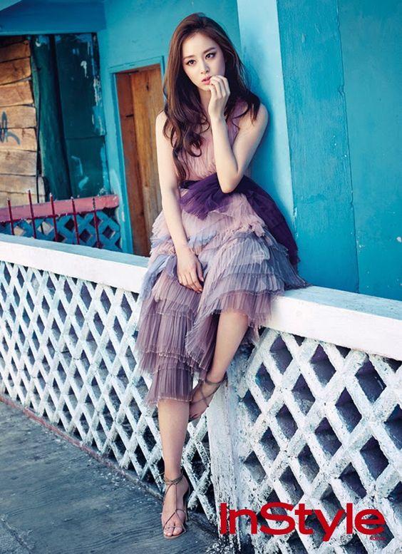 Kim Tae Hee InStyle Korea 2015 April
