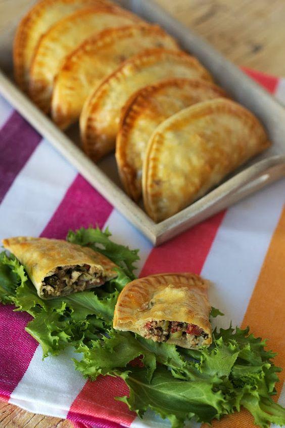 Cinco Quartos de Laranja: Pastéis de carne com alho-francês