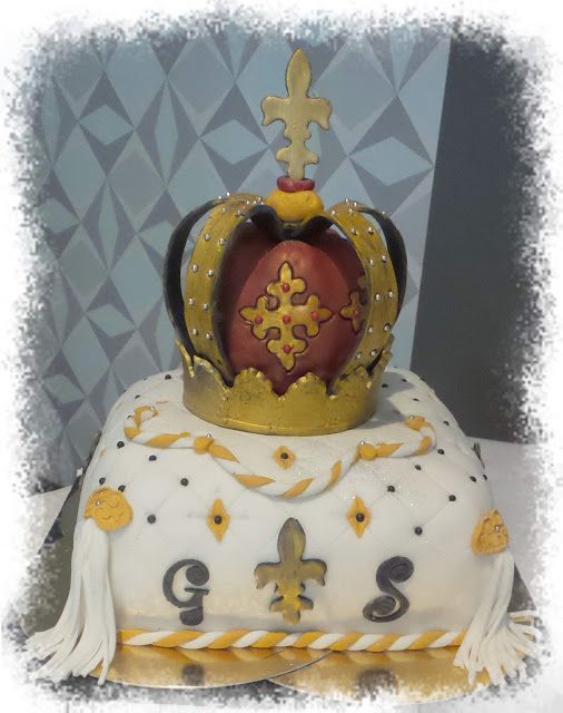 Mes créations pâtissières: Couronne Royale