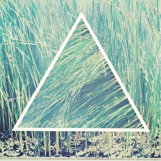 grass triangles