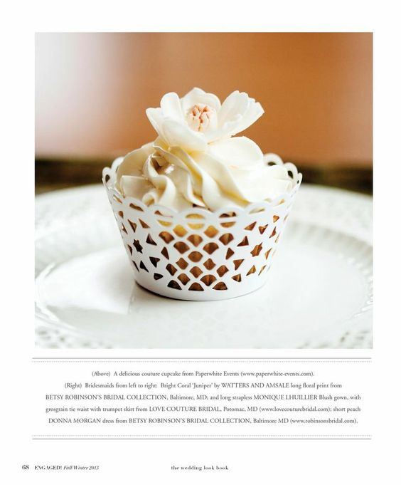 Swirls of meringue buttercream from Paperwhite Events with Engaged! Magazine. See more @ www.paperwhite-events.com