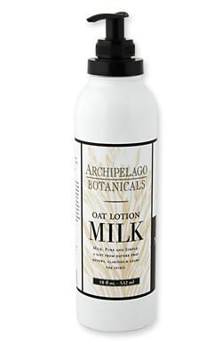 Archipelago Botanical's Oat Milk skin care collection is hydrating, soothing & gentle to the skin. and reminiscent of old-fashioned milk skin treatments! Th