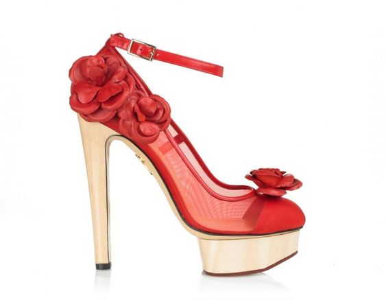 Flora by Charlotte Olympia @Heels #Charlotte_Olympia