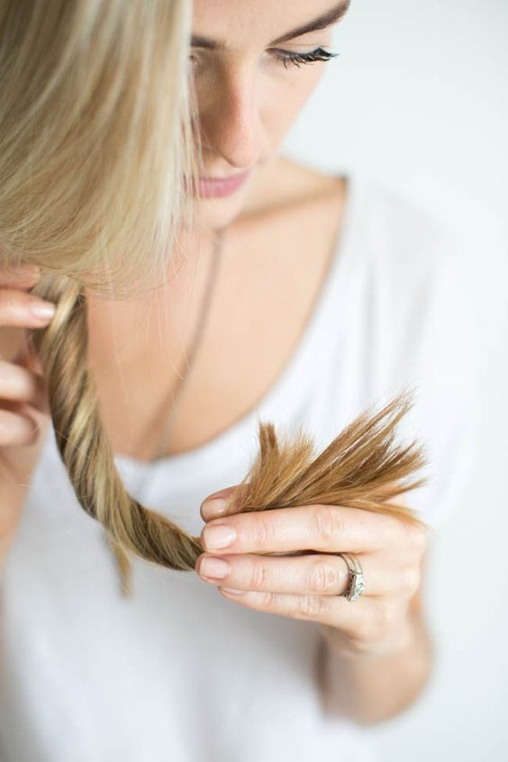 How to Heal Split Ends: