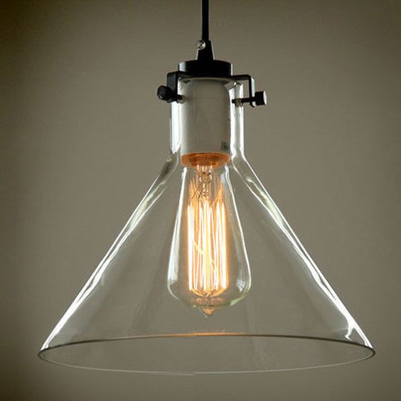 Industrial, Glasses And Lamp Shades On Pinterest