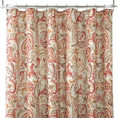 Curtains Ideas curtains jcpenney home collection : Home™ Laurel Shower Curtain | The o'jays, Home and Showers