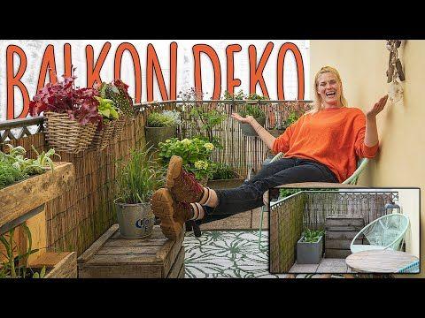 Balkon Makeover Mein Kleines Paradies Teil 2 Youtube Gartengestaltung Garten Deko Balkon