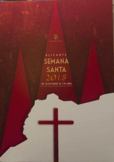 Semana Santa Alicante 2018 (del 9 al 16 de Abril):  D. Alejandro López Sánchez, con el lema 'Alicante de Pasión'.