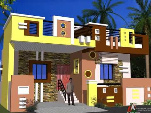 Individual Houses Modern Front Elevations Single Floor