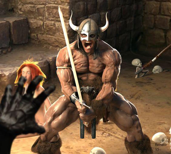 Conan 3d model