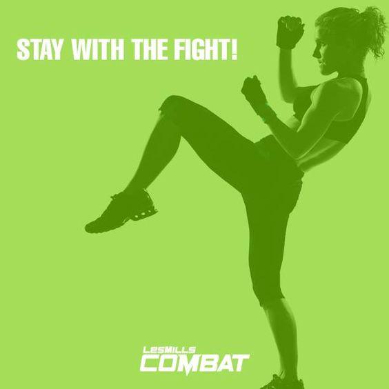 Stay With The Fight with Les Mills Combat! www.ochomesbyjeff.com #orangecountyrealtor #jeffforhomes #ilovecardio