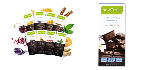 New Tree Chocolate  You MUST try the Organic Milk Chocolate with Cinnamon and Lime!