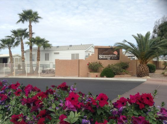Superstition Sunrise RV Resort In Apache Junction Arizona Offers Over 45000 Square Feet Of The Finest