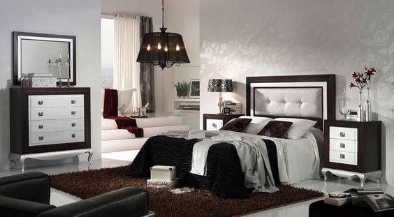 Muebles de dormitorio en madera maciza con cabecero de for Pintar muebles barnizados