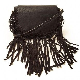 """Crafted in soft, supple vegan leather, a generous swish of fringe takes this boho-style hobo bag to the next level of cool  Magnetic button closure Adjustable crossbody strap Interior zip pocket Large fitted pocket Plush interior lining 7 1/2"""" wide 6 1/2"""" tall 1 1/2"""" deep"""