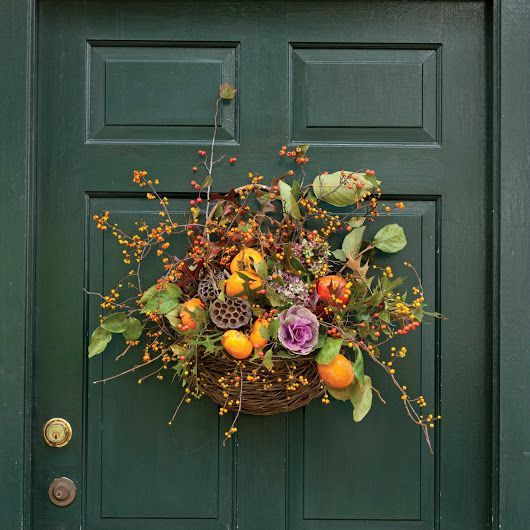 Fall Door Wreaths - Southern Lady Magazine