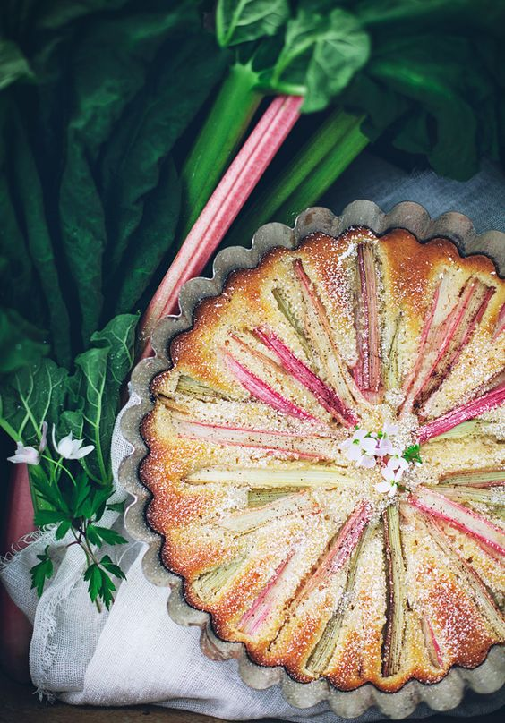 Call me cupcake: Easy rhubarb cake: